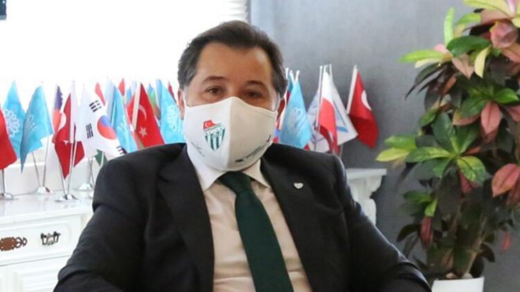 """Bursaspor Başkanı Mesut Mestan: """"Tüm camia kenetlenmiş durumdayız..."""""""