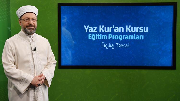 2020 yaz Kur'an kursları ile ilgili önemli karar