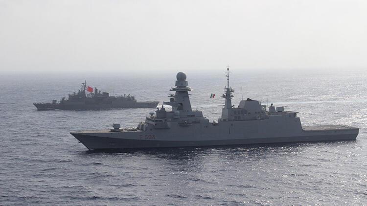 MSB paylaştı: 'TCG Oruçreis' ile Doğu Akdeniz'de deniz eğitimleri yapıldı