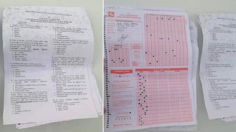 Yolda bulunan sınav kağıtlarına ilişkin Valilik'ten açıklama
