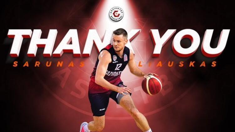 Sarunas Vasiliauskas ile Gaziantep Basketbol'un yolları ayrıldı!