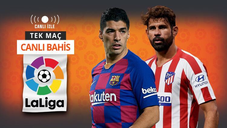 Atletico Madrid karşısında Barcelona'nın tek hedefi 3 puan! Galibiyetlerine iddaa'da...