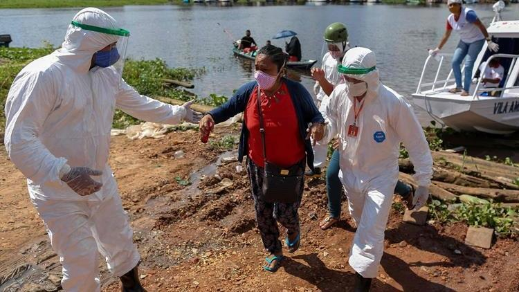 Son 24 saatte Brezilya'da 692, Meksika'da 473, Hindistan'da 423 kişi koronavirüs (Covid-19) nedeniyle öldü