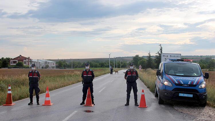Tekirdağ'ın Yuvalı Mahallesi'ndeki karantina kaldırıldı