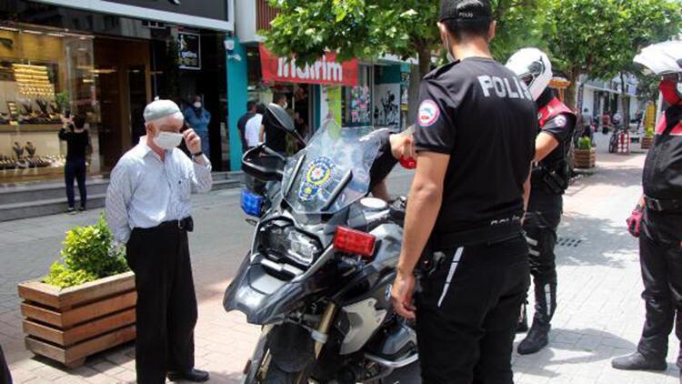Bolu'da, 8 günde 240 kişiye 'maske' cezası
