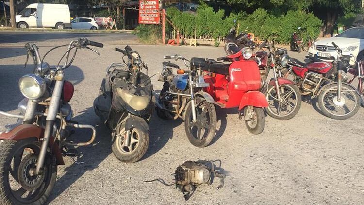 İskenderun'da çalıntı motosiklet operasyonu yapıldı