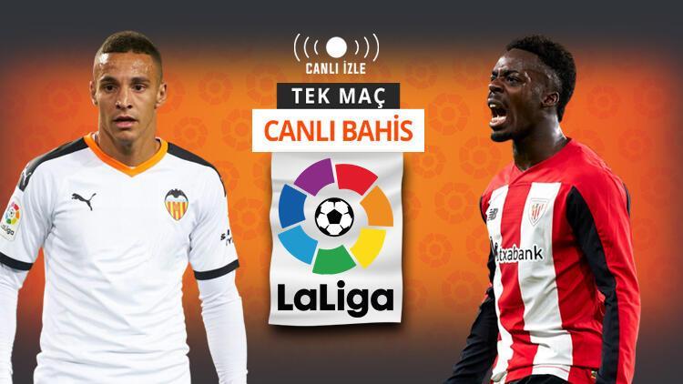 Celades sonrası Valencia kendine gelir mi? Athletic Bilbao'ya verilen iddaa oranı...