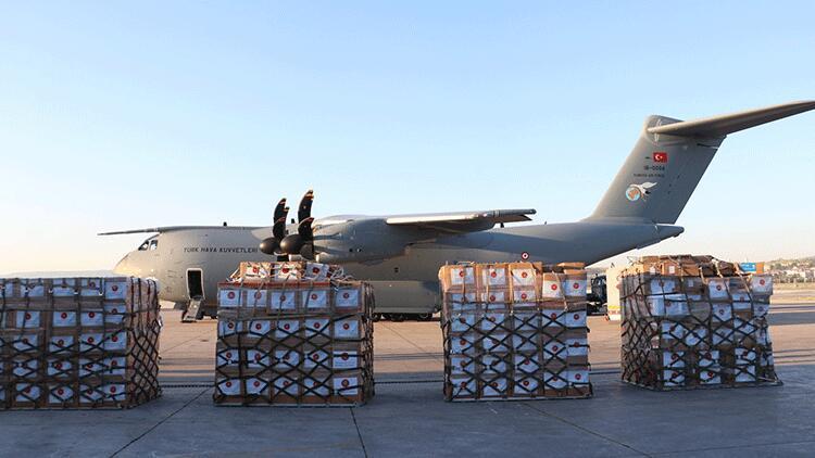 Türkiye'den, Irak'a tıbbi malzeme yardımı yapıldı