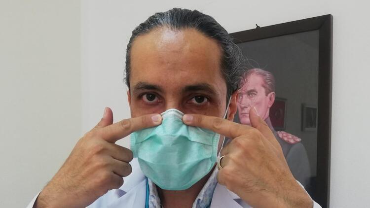Doç. Dr. Gökhan Özge: Telli maske, göz kuruluğunu engeller
