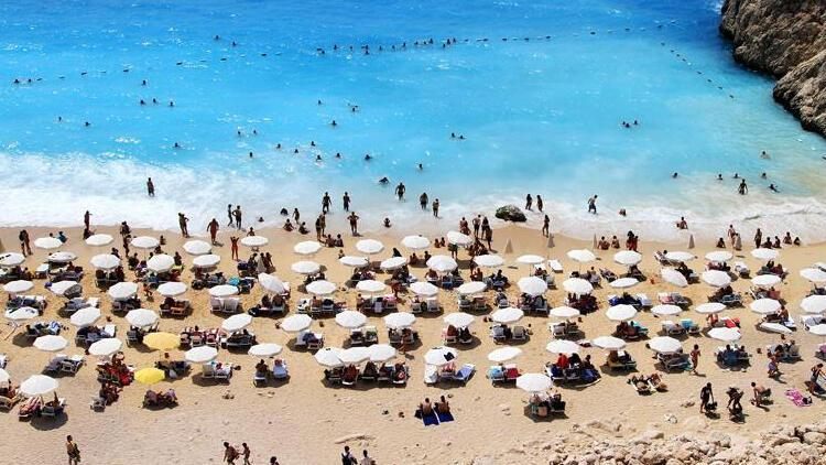 Ukraynalılar tatil için Türkiye'ye geldi