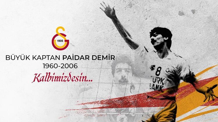 Galatasaray, efsane voleybolcu Paidar Demir'i andı