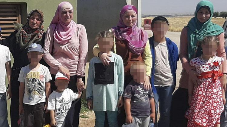 INTERPOL tarafından aranan DEAŞ'lı 4 kadın Kilis'te yakalandı!