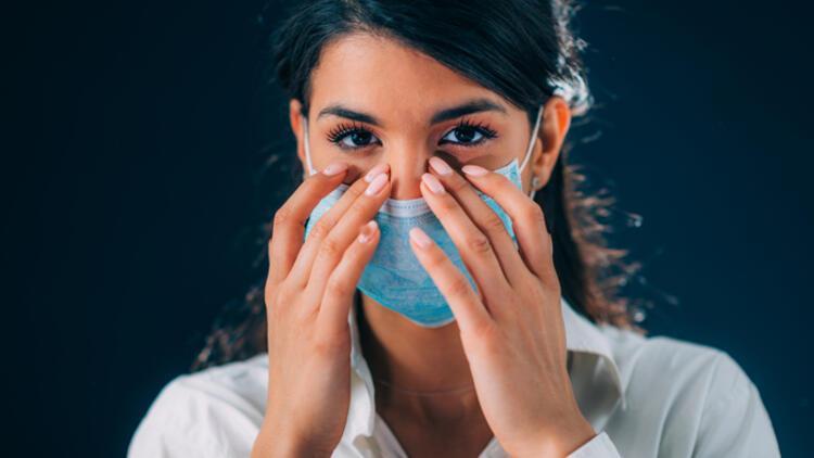 Maske takarken bu uyarıya dikkat! Burnunuza tam oturmazsa…
