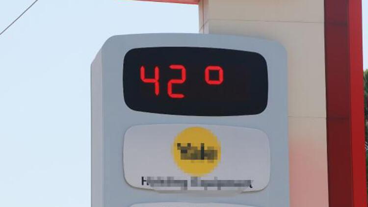 Adana'da termometreler 42 dereceyi gösterdi, vatandaşlar parklara akın etti