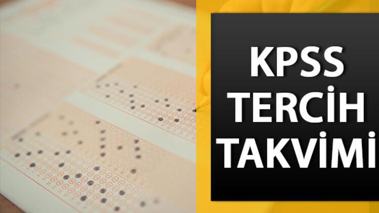 KPSS tercihleri ne zaman? KPSS-2020/1 tercih tarihi belli oldu