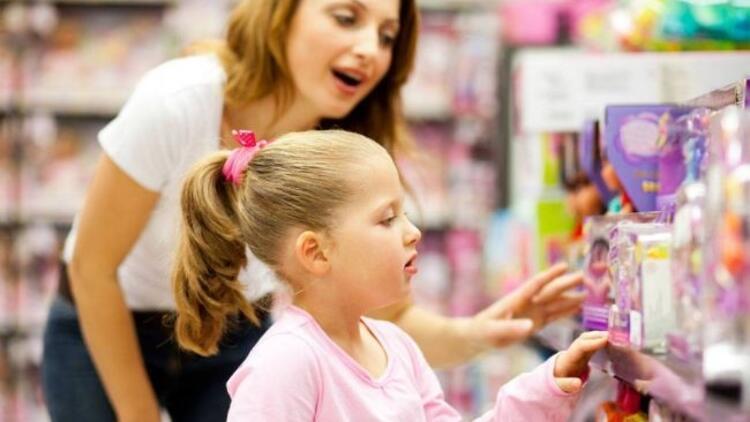 Çocuğunuzla çıktığınız alışveriş kabus olmasın