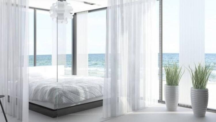 Yatak odanızda açık renkler tercih edin