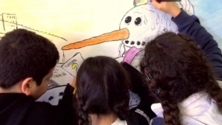 Mizahı Seven Çocuklara Karikatür Atölyesi
