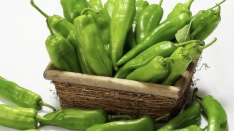 Sağlığımızın dostu yeşil biber