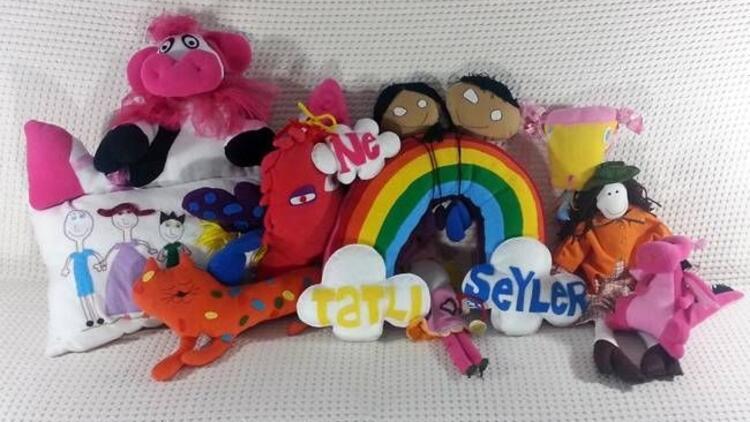 Çocuklar artık kendi oyuncaklarını kendi çizecek!