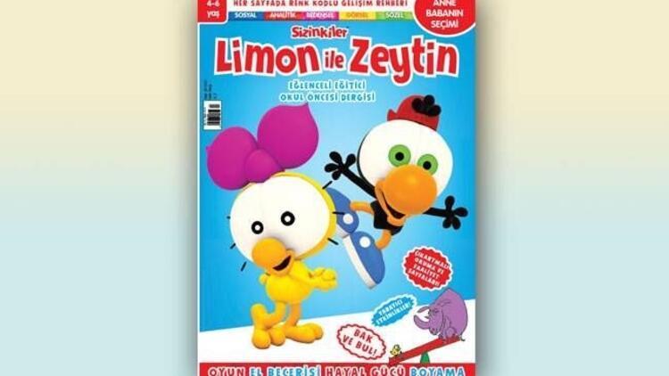 Limon ile Zeytin'den yepyeni bir dergi!