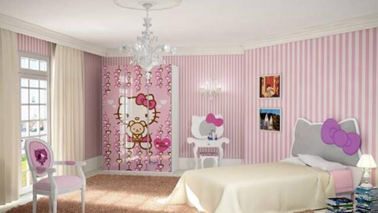 Kız çocuklarının vazgeçilmezi: Hello Kitty!