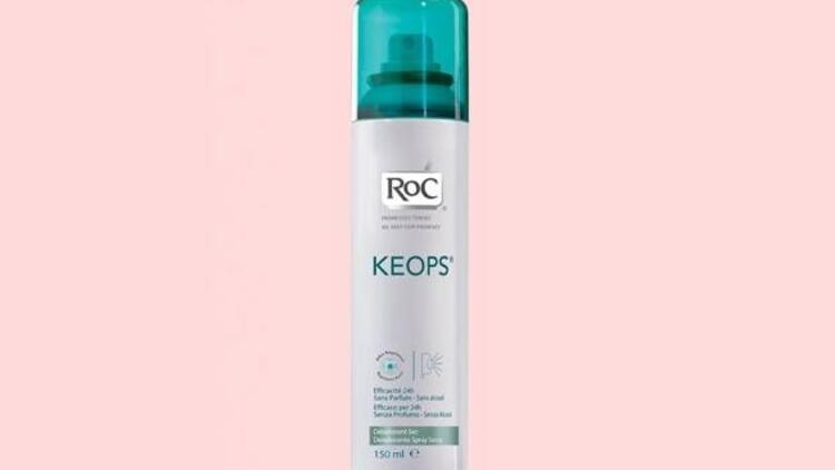 Hassas ciltler için özel deodorant: RoC Keops