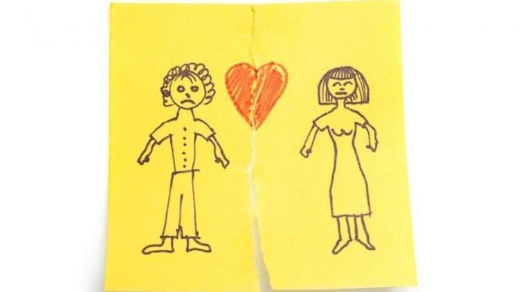 En popüler 45 boşanma nedeni