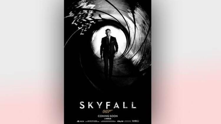 James Bond serisinin son filmi Skyfall 007