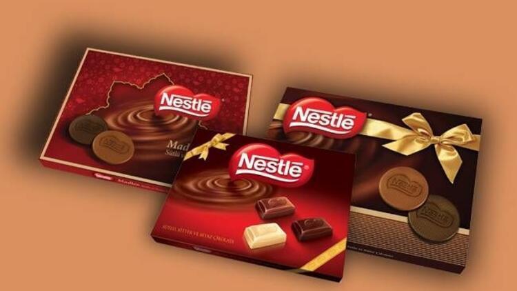 Nestle'den lezzetli bayram çikolataları