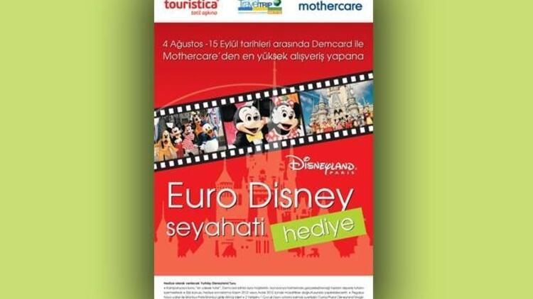 Mothercare'den Disneyland tatili kazanma fırsatı