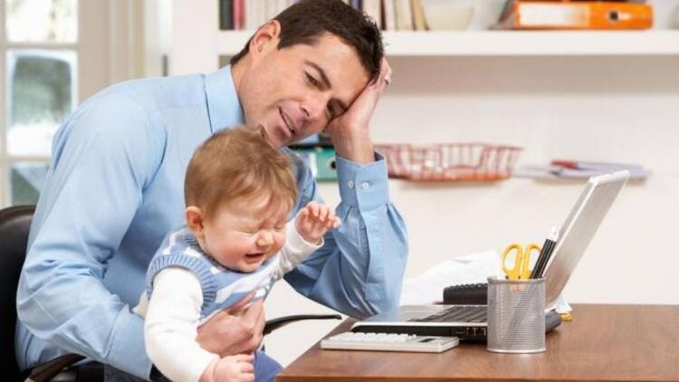 Çok çalışmak çocuğunuzu da etkiliyor!