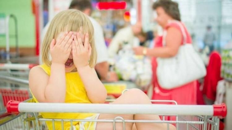 Çocuğunuzla çıktığınız alışveriş krize mi dönüyor?