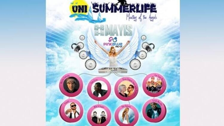 Uni Summerlife, dünya starlarını ağırlayacak