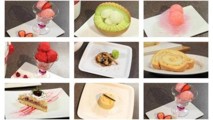 Birbirinden lezzetli meyveli tatlılar