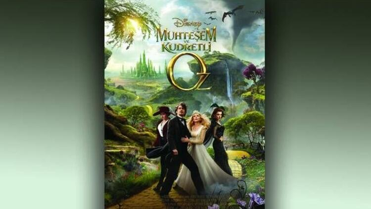 ''Muhteşem ve Kudretli Oz'' vizyonda!