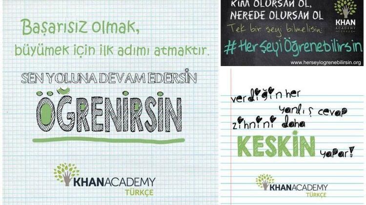 """Khan Academy ile """"Her Şeyi Öğrenebilirsin"""""""