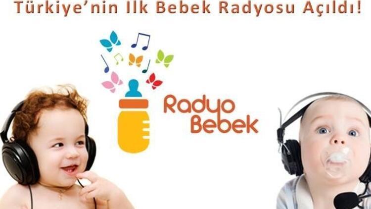 Türkiye'nin ilk bebek radyosu açıldı!