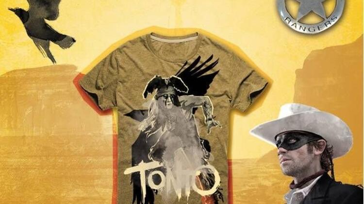 Maskeli Süvari tişörtleri Loft'ta!