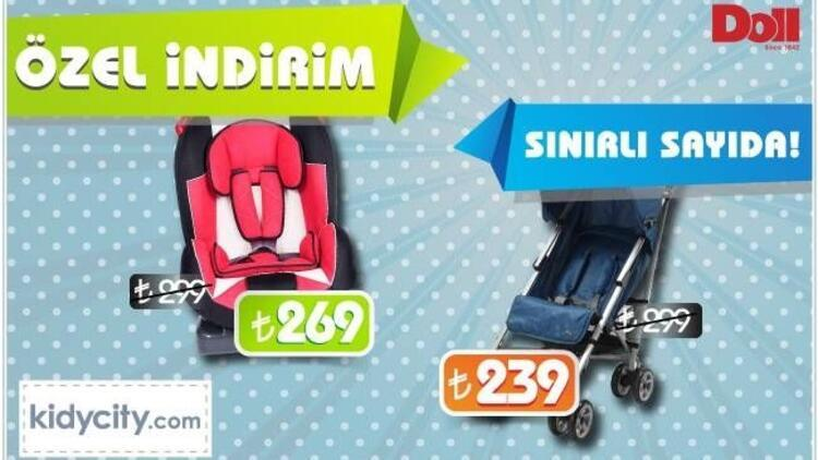 Doll bebek araç gereçlerinde özel indirim fırsatları!