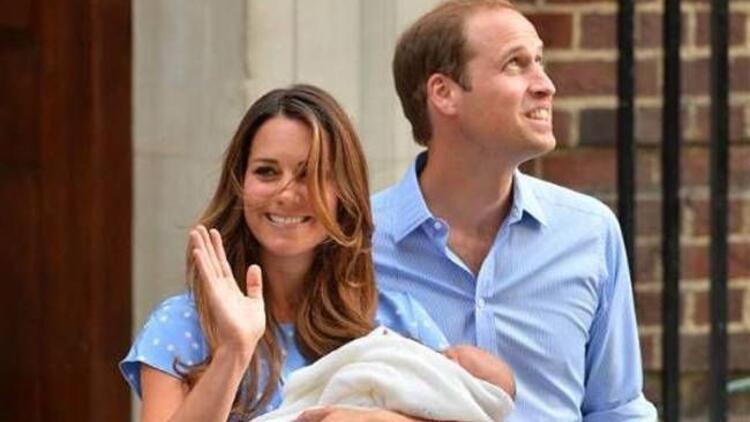 Kraliyet bebeği nihayet dünyaya geldi