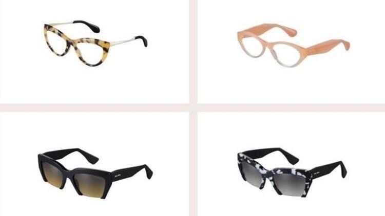 Sonbahar-Kış koleksiyonu Miu Miu gözlükler