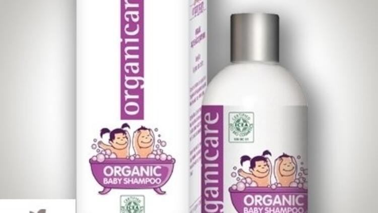 İlk Sertifikalı Organik Bebek Şampuanı