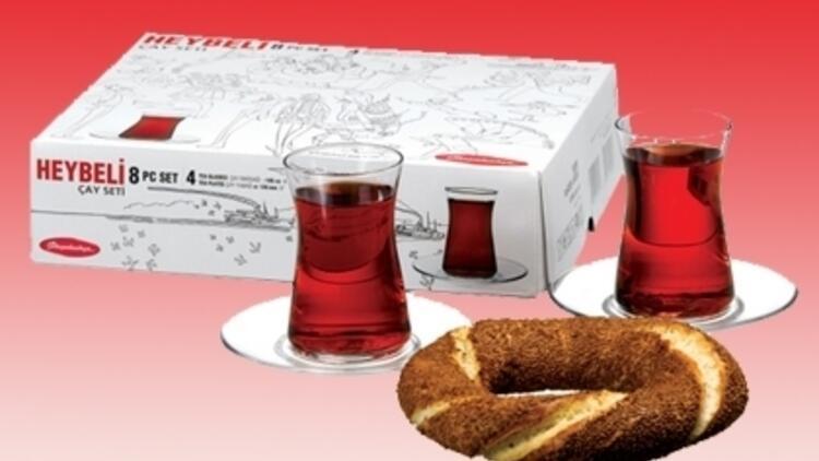 Paşabahçe'den Heybeli Çay Seti