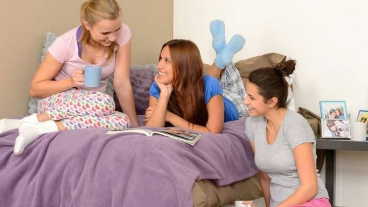 Pijama partiniz için atıştırmalıklar