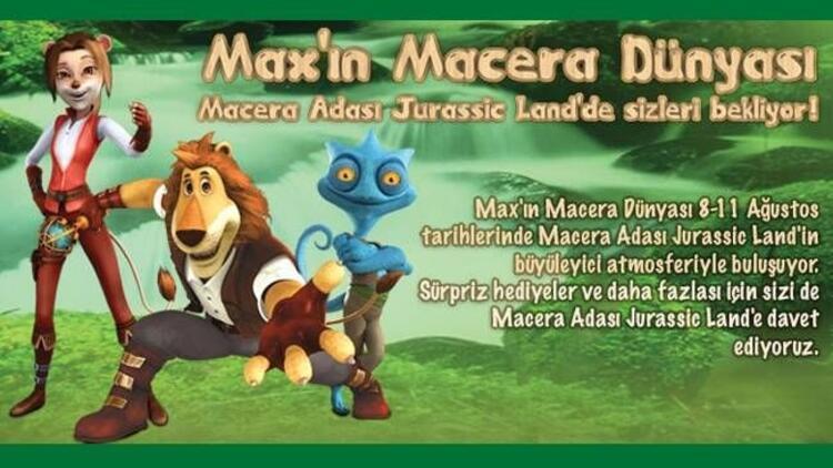 Aslan Max Jurassic Land'de!