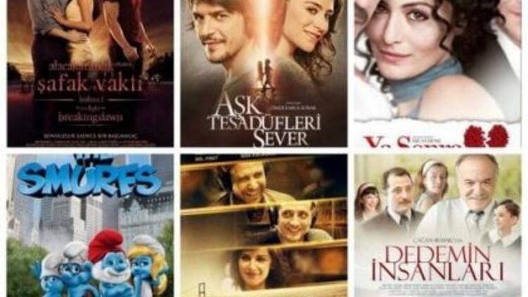 İşte, 2011'in en çok izlenen filmleri