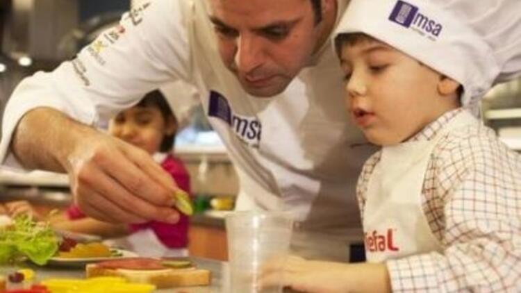 Okulların en lezzetlisi tatilde MSA'da açılıyor