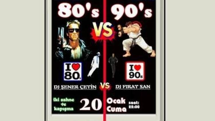 80'ler - 90'lar karşılaşması