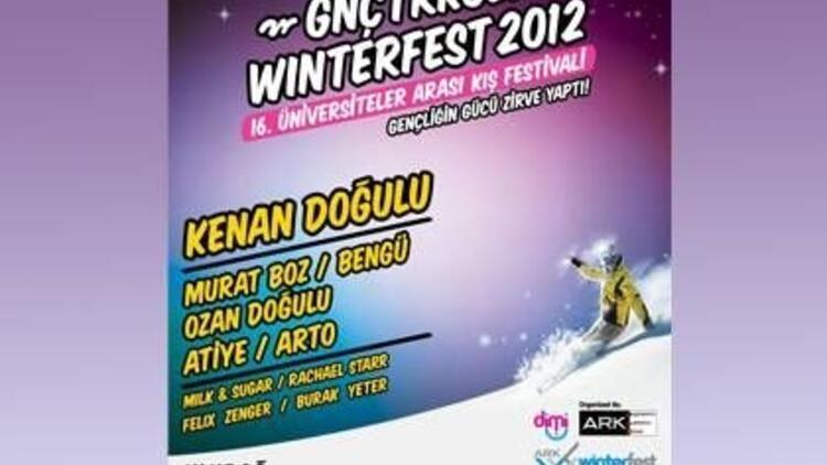 """""""Gnçtrkcll Winterfest 2012"""" başlıyor"""